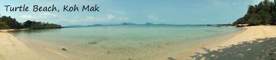 Turtle beach Koh Mak