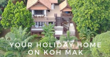 Coconut Villa is a house for rent on Koh Mak island, Thailand