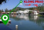 South klong prao beach map.