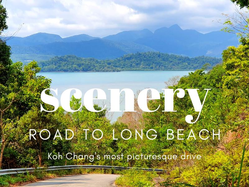 Road to Long beach, Koh Chang