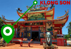 Visitor map of the Klong Son area of Koh Chang