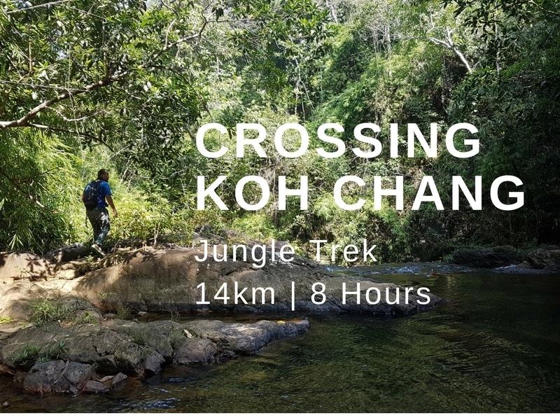 Walk across Koh Chang island