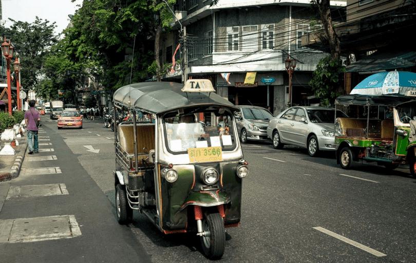Driving to Koh Chang