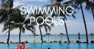 swimming pools on Koh Chang