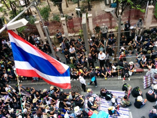 Bangkok Shutdown Demo