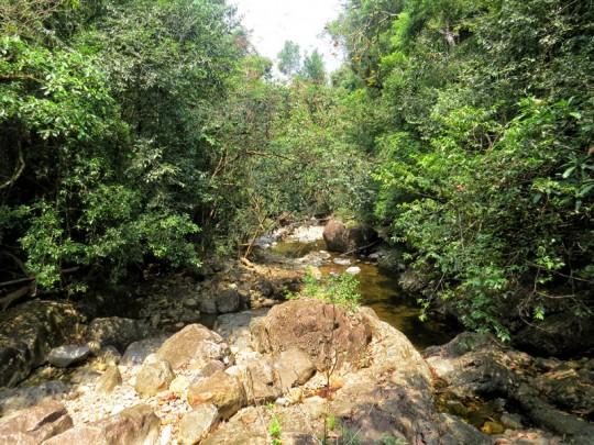 Start of Klong Prao river