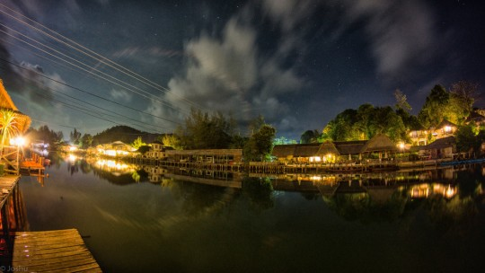 Baan Rim Nam at Night