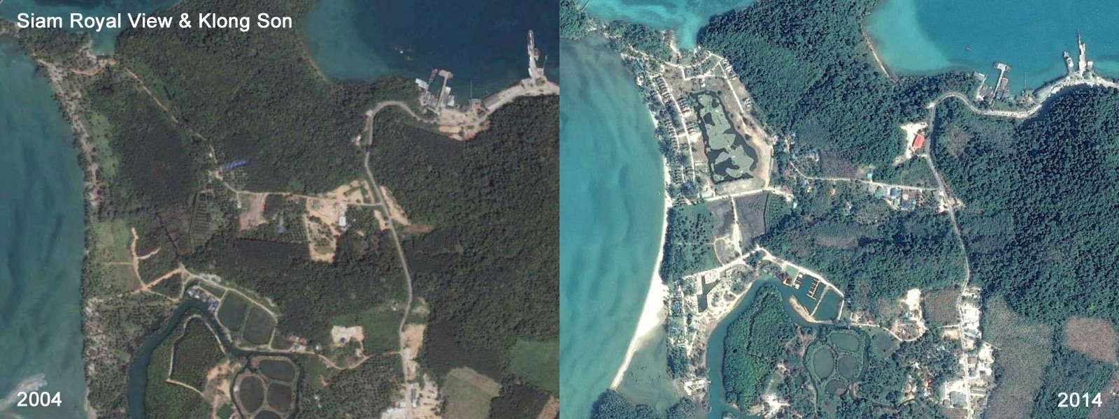 View comparison - Koh Chang