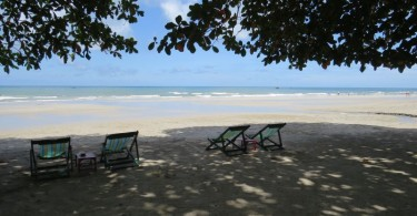 sunnyday beach in Koh Chang