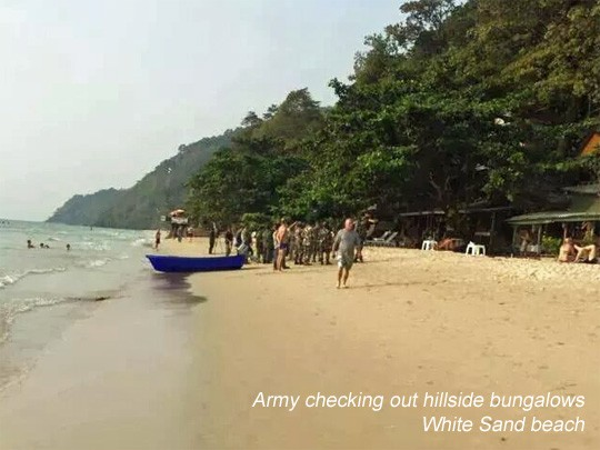 Army on Koh Chang
