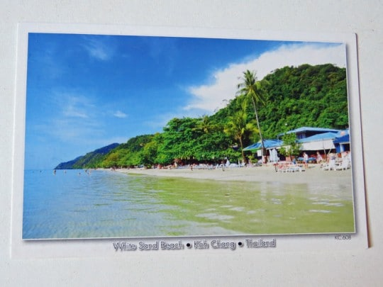 Postcards from White Sand beach, Koh Chang