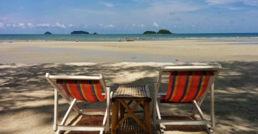 Peaceful Koh Chang Beach