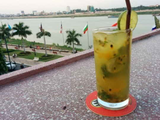 Passionfruit Mojito at FCC