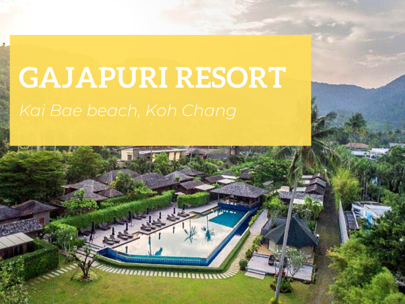 Gajapuri Resort, Kai Bae beach, Koh Chang