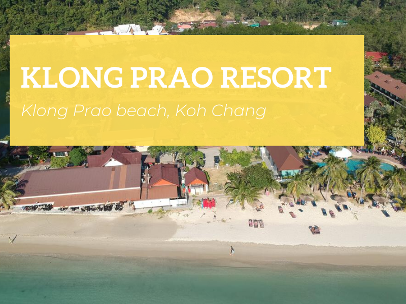 Aerial view of Klong Prao Resort, Koh Chang