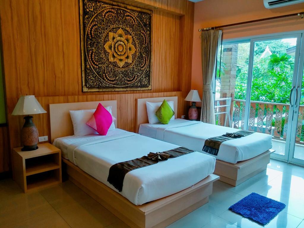 Deluxe room interior - Coconut beach Resort, Koh Chang