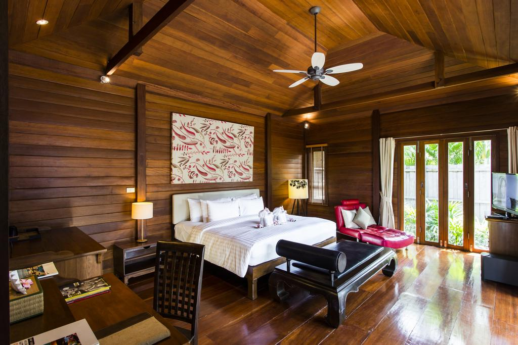 Interior of Pool Villa at Gajapuri Resort