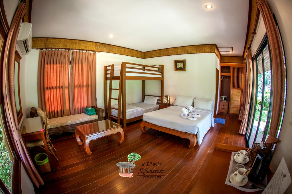 Interior family room, KB Resort, Koh Chang