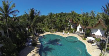 Swimming pool at Thai Garden Hill Resort, Koh Chang