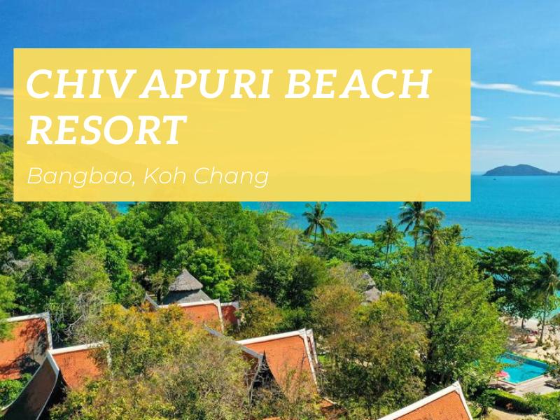 Chivapuri Beach Resort, Klong Kloi beach
