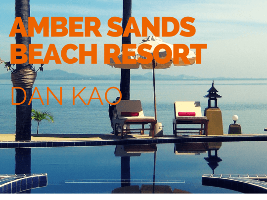 Amber Sands Beach Resort - a great boutique hotel
