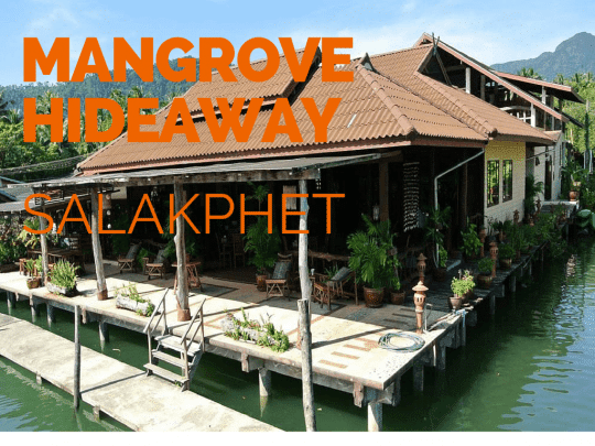 Mangrove Hideaway. Excellent small boutique hotel