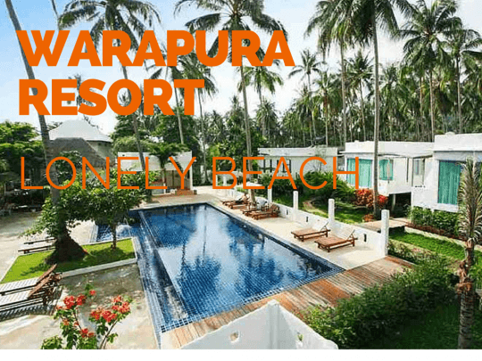Warapura Resort. Best boutique hotel on Lonely beach