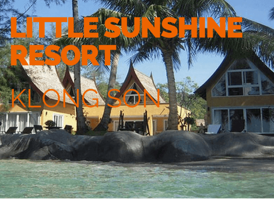 Little Sunshine Resort. Beachfront boutique hotel on Koh Chang