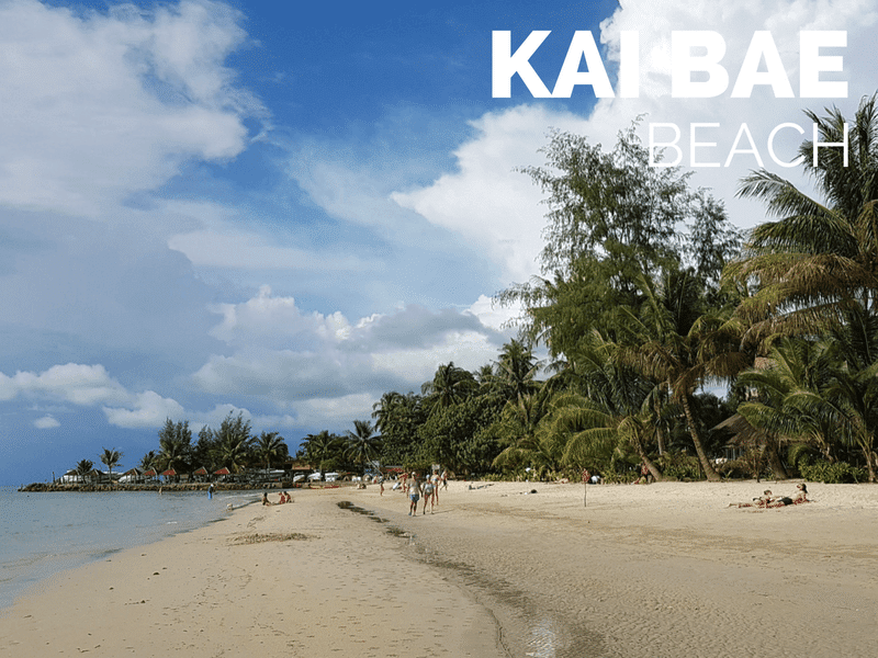 Travel Guide to Kai Bae Beach Koh Chang Updated May 2018