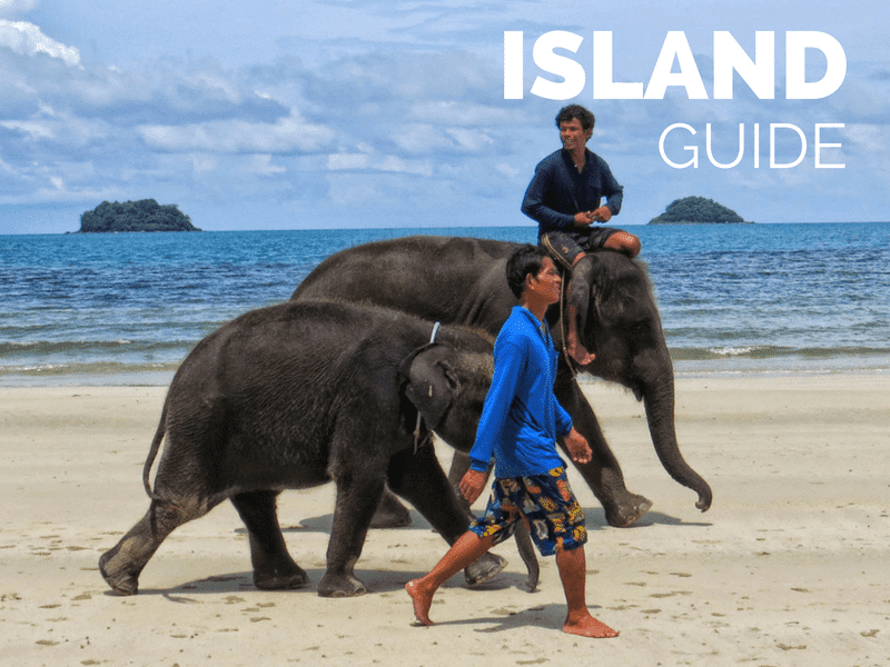 Information on which beach to stay at on Koh Chang island, Thailand