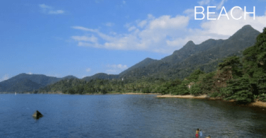 Tourist and travel guide to Pearl beach, Koh Chang island, Thailand