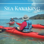 Guided sea kayaking trips around Koh Chang and outlying islands