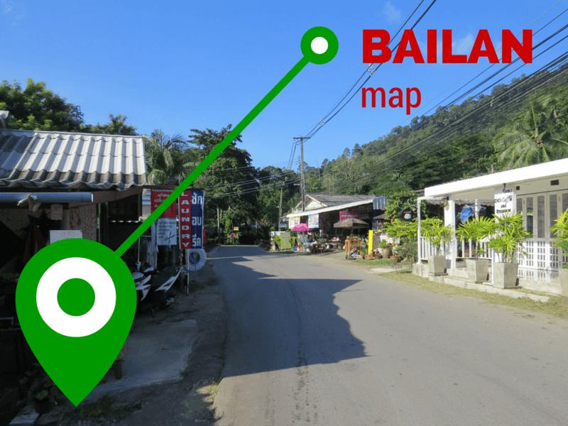 Bailan map