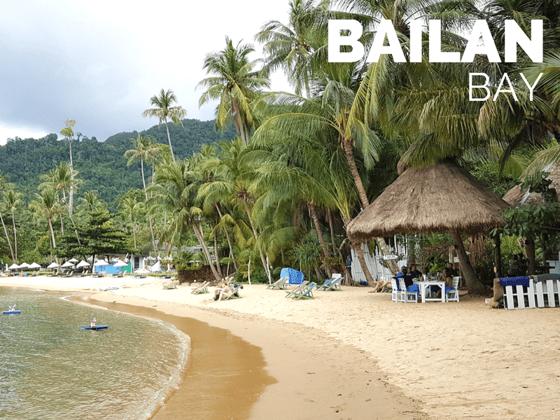 Tourist information about Bailan beach, Koh Chang, Trat