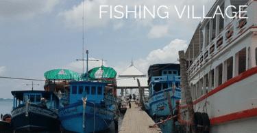 The pier at Bangbao fishing village, Koh Chang