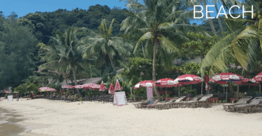 Tourist guide to the southernmost beach on Koh Chang island, Klong Kloi beach, near Bangbao