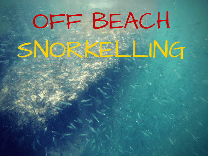 Places to snorkel on Koh Chang island