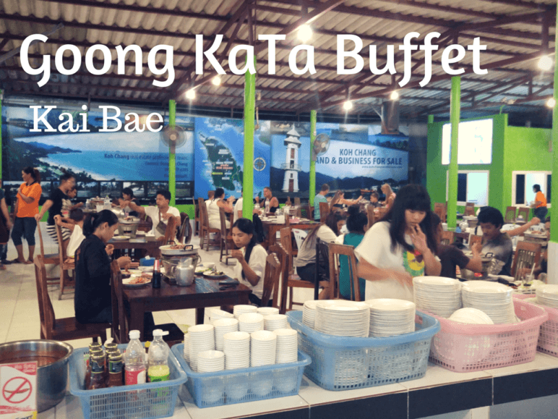 Buffet restaurant in Kai Bae beach