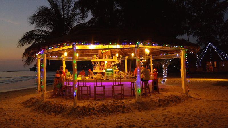 Beach Bar at Peter pan Resort, Koh Kood