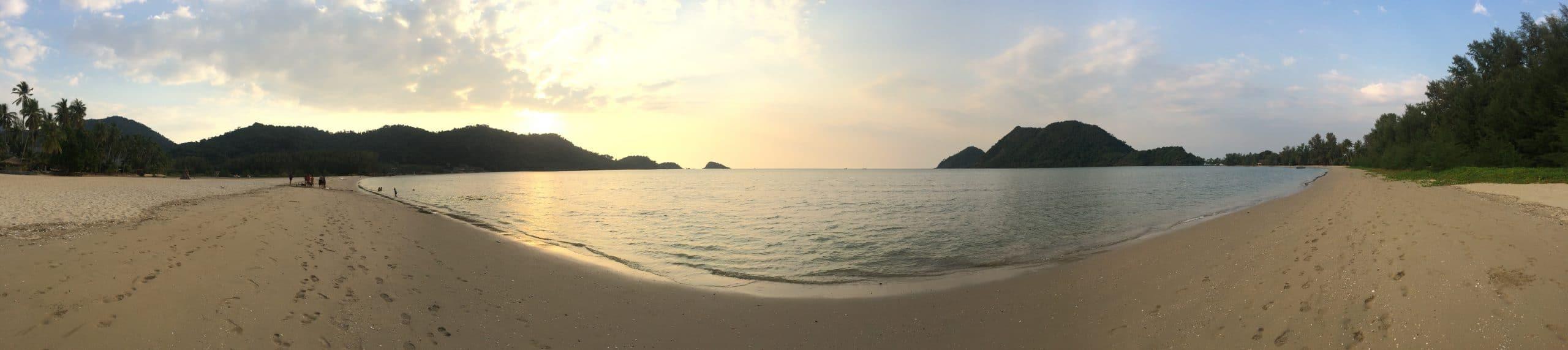 beach near Orchid Resort, Klong Son, koh Chang