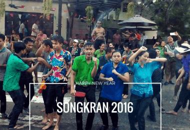 Songkran celebrated on Koh Chang 2016