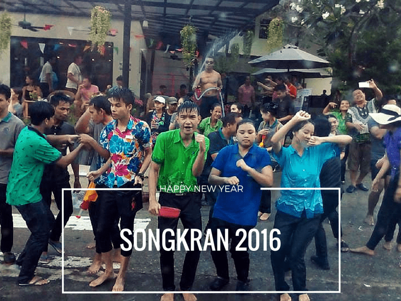 Songkran celebrated on Koh Chang 2016