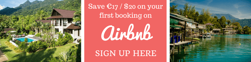 Stay in an Airbnb property and save $20 on your first booking.