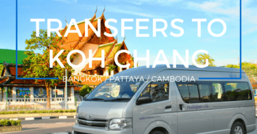 Getting to Koh Chang. Private and shared transfers by car , taxi and minibus from Bangkok, Pattaya and elsewhere