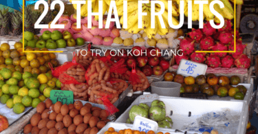 These 22 delicious fruits are all grown in Thailand. How many have you tasted.