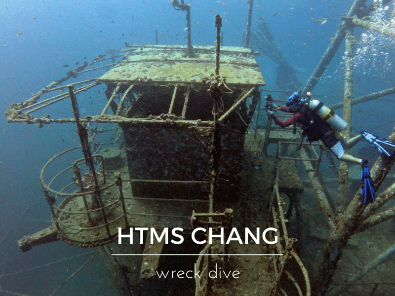 Dive the wreck of the HTMS Chang with BB Divers