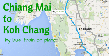 Travel from Chiang Mai to Koh Chang by bus, train or plane.