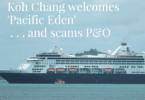 Pacific Eden cruise ship visits Koh Chang