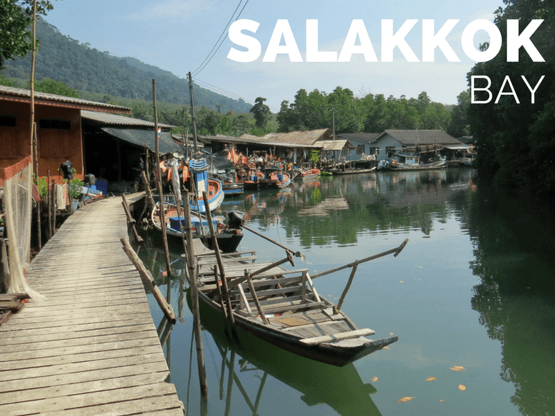 Tourist information for visitors to Salakkok fishing village on Koh Chang