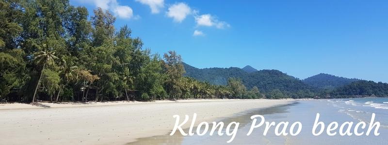 Klong Prao beach, Koh Chang